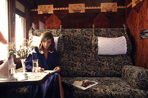 Me in orient express