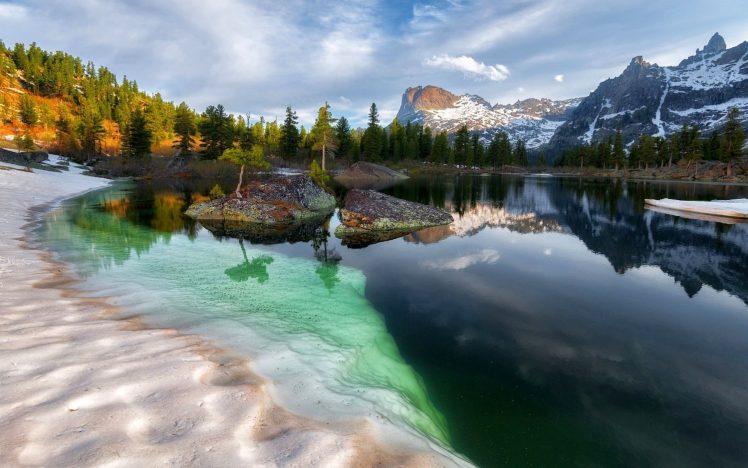 Amazing landscapes in Siberia.