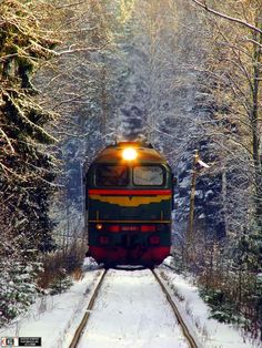 Trans-Siberian Railway is going across all Russia territory.